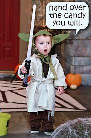Yoda Halloween Costume Toddler Didn U0027t Costume Bower Power