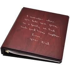funeral guest books wholesale funeral guest books wooden binder handwritten note option