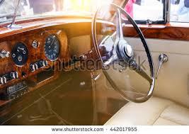 Brown Car Interior Old Car Interior Stock Photo 604226861 Shutterstock