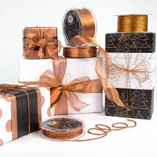 copper wrapping paper wrapco copper gift wrap and ribbons www wrapco au gift