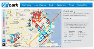 san francisco hospitals map san francisco cuts cruising for parking in half with market