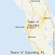 florida towns map best places to live in town n country florida