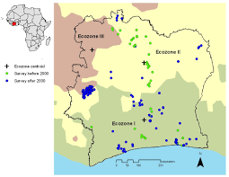 Ivory Coast Map Mapping Malaria Risk Among Children In Côte D U0027ivoire Using
