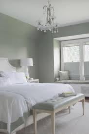 gray and green bedroom white and gray green bedroom with crystal droplets chandelier over
