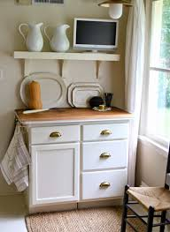 Kitchen Hutch Cabinet by Small Kitchen Hutch Home Design Styles