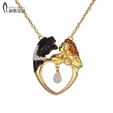 s day pendants vintage necklace pendant heart s day gift