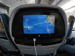 Hawaiian Airlines Route Map by Hawaiian Airlines A330 200 Extra Comfort Premium Economy