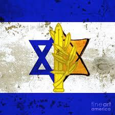 Flag Of Israel Of Israel Art Photograph By Nir Ben Yosef