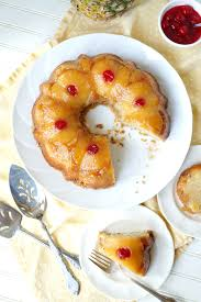 upside down bundt cake the baking fairy