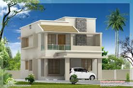 kerala home design villa 1770 sq feet modern villa with construction cost kerala home