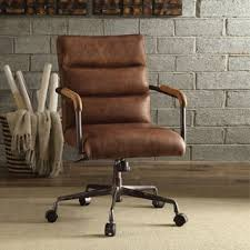 Tan Leather Office Chair Leather Office U0026 Conference Room Chairs For Less Overstock Com