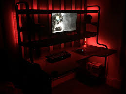 Gaming Desk Ikea by Ikea Fredde Desk Battlestations Pinterest Desks Gaming