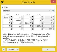 color matrix u0027 adjustment plugin plugins publishing only