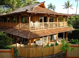 getting fun life in astounding bamboo house design and floor plan