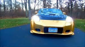 nissan 350z for sale cheap 2004 nissan 350z gold chrome veilside wide body kit for sale ends