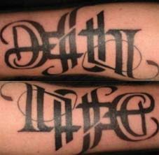 25 trending ambigram tattoo ideas on pinterest sister tat
