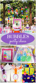 birthday themes for bubbles birthday s bubbles themed 2nd birthday party