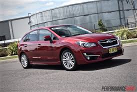 2016 subaru impreza hatchback 2015 subaru impreza 2 0i s review video performancedrive