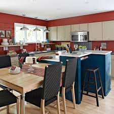 kitchen island with attached table kitchen islands with tables attached captainwalt com