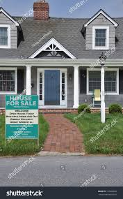 house sale on front yard lawn stock photo 154860668 shutterstock