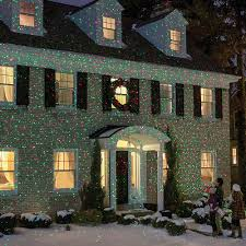 light laser show house projector at brookstone buy now