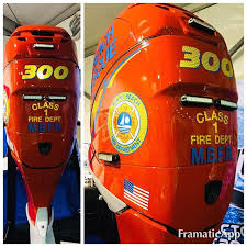 the outboard paint shop