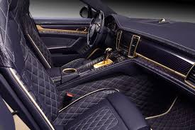 porsche gold 2014 porsche panamera dressed in crocodile leather and gold
