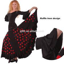new style fancy flamenco spanish dance dress costumes wholesalers