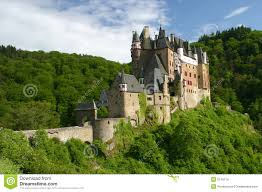 old castle rhine river valley royalty free stock image image