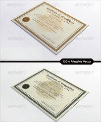 sample certificate of completion template free printable