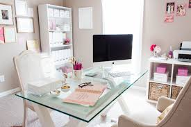 chic home office desk office design pink home office inspirations office ideas pink