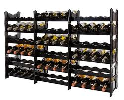 wine rack 72 bottle modular adaptable expandable storage winerax