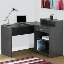 l shaped computer desk with hutch black default name l shaped