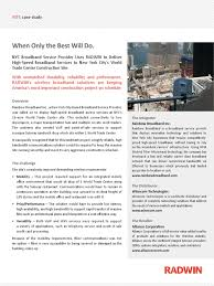 case study wtc internet access broadband