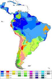 Map Latin America South America Climate Map South America Drought Robertscribbler