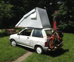 building a tent platform festfalia a ford festiva flip top hyper miler camper 14 steps