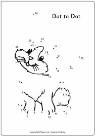 animal dot to dots