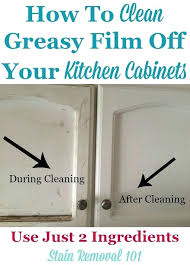 Grease Cleaner For Kitchen Cabinets Best Cleaner For Kitchen Cabinets Top Way To Clean Cleaning Wood