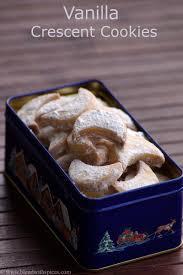 vanilla crescent cookies recipe how to make moon biscuits recipe