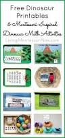 dinosaur printables montessori inspired dinosaur math activities