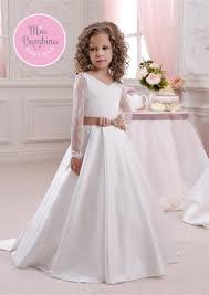 white confirmation dresses white flower girl dresses