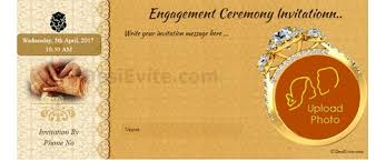 hindu invitation cards free engagement invitation card online invitations