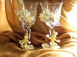 wedding goblets custom wedding goblets wendy gell jewelry and