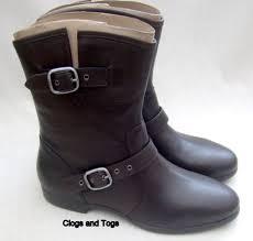 womens black leather boots australia ugg australia frances womens black leather boots uk 7 5 ebay