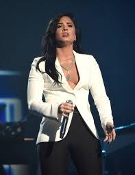 Beaner Beaner Demi Lovato Has Put On Some Nice Long Coal Black Shiny