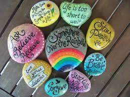 sprüche steine bemalte steine ihre zeit für kreative beschäftigungen archzine net