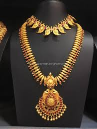 indian bridal jewelry necklace images South indian bridal jewellery set south india jewels jpg