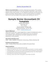 resume format for the post of senior accountant responsibilities accountants resume exle accounting objective exles 15a