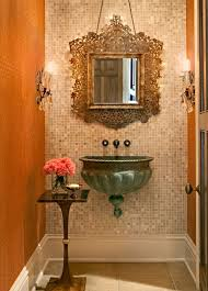 powder bathroom ideas how to a narrow powder room feel inviting and comfortable