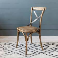 Cross Back Dining Chairs Cross Back Oak Dining Chair Chairs Graham And Green